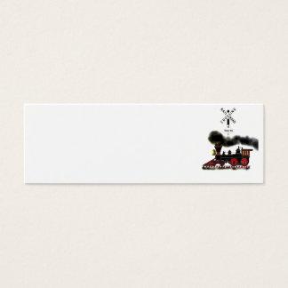 Smokin Locomotive Mini Business Card