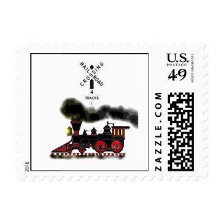 Smokin Locomotive Postage