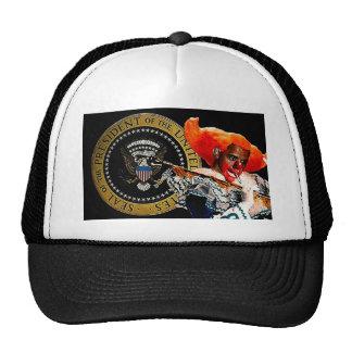 Smokin' Presidential Clown Trucker Hat