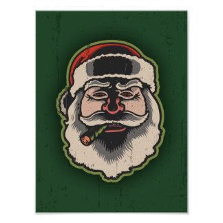 Smokin' Santa III Print