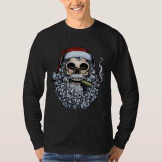 Smokin' Santa Skull Shirt