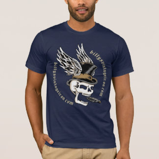 Smokin' Skull Wings T-Shirt