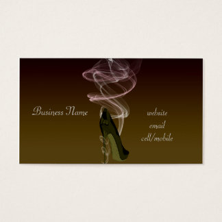 Smokin' Stiletto High Heel Shoe Art Business Card
