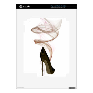 Smokin Stiletto Shoe Art iPad 2 Skin