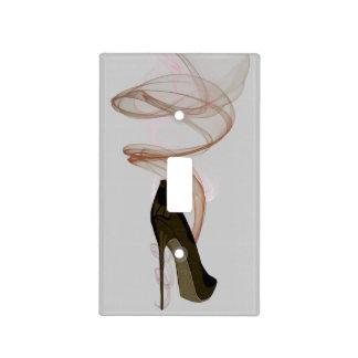 Smokin Stiletto Shoe Art Light Switch Cover