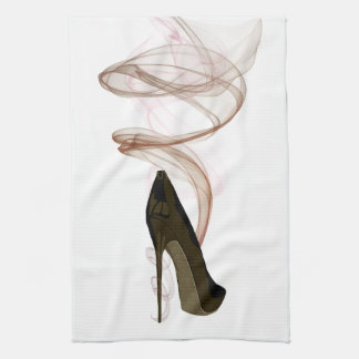 Smokin Stiletto Shoe Art Towel