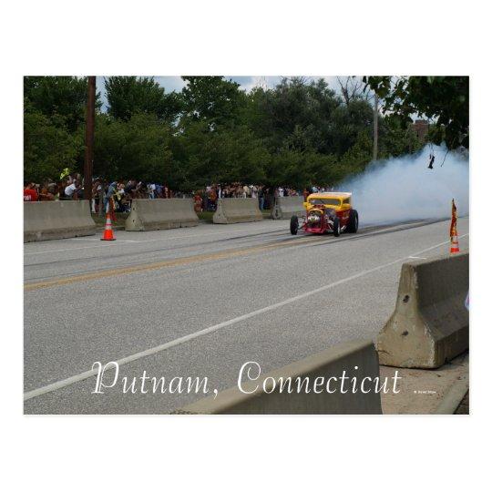 Smokin Tire Postcard