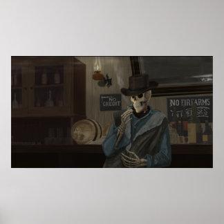 Smokin Whiskey Poster