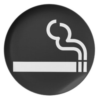 Smoking Allowed Party Plates