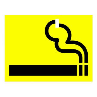 Smoking Allowed Postcard
