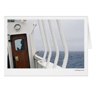 Smoking at Sea Card