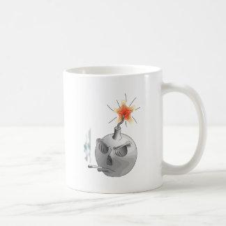 Smoking bomb coffee mugs