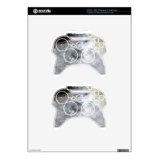 Smoking burning charcoal on barbecue xbox 360 controller skin