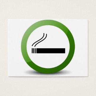 Smoking Business Card