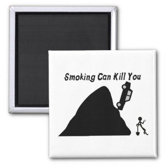 Smoking Can Kill You 2 Inch Square Magnet