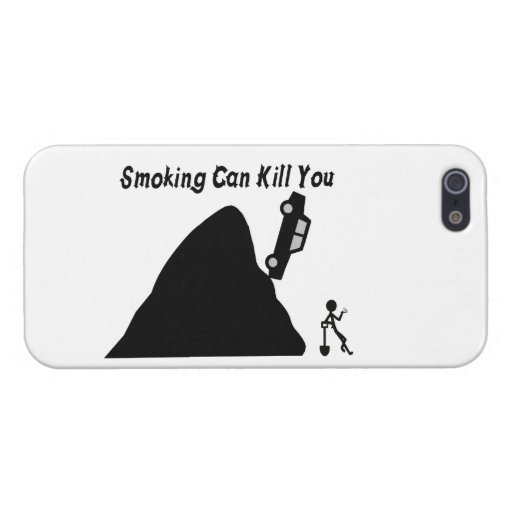 Smoking Can Kill You iPhone 5 Covers