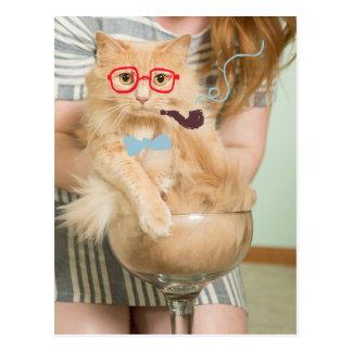 Smoking Cat Postcards