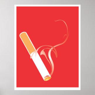 Smoking Cigarette Poster