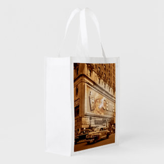 """""""Smoking"""" Commercial in New York City Reusable Grocery Bag"""