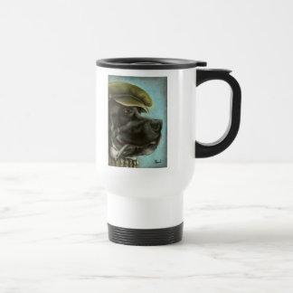 Smoking Dane Coffee Mugs