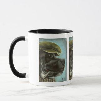 Smoking Dane Mug