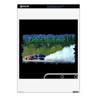 Smoking Doorslammer Drag-car Playstation 3 Skin Skins For PS3 Slim