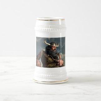 Smoking Dwarf Beer Stein