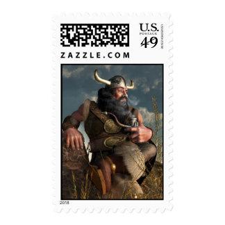 Smoking Dwarf Postage