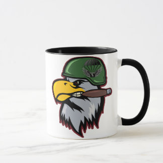Smoking Eagle Commando Mug