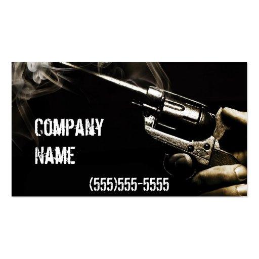 smoking  ffl dealer business card