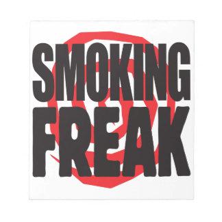 Smoking Freak Memo Note Pads