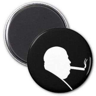 Smoking Gangster Magnet