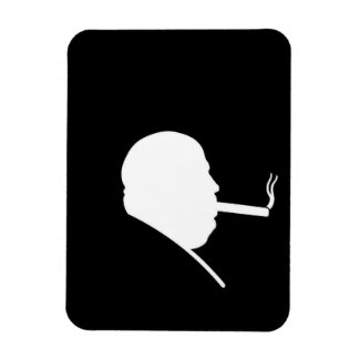 Smoking Gangster Photo Magnet