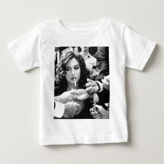 Smoking Girl Baby T-Shirt