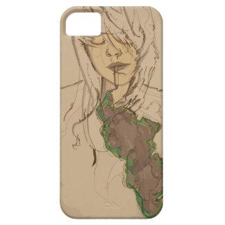 Smoking Girl iPhone SE/5/5s Case