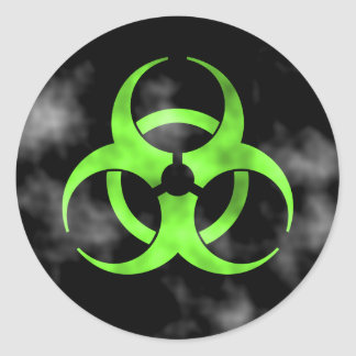 Biohazard Symbol Stickers | Zazzle