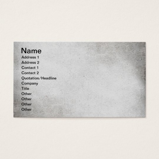 SMOKING GREY GRAY TEXTURED WALLPAPER TEMPLATE DIGI BUSINESS CARD