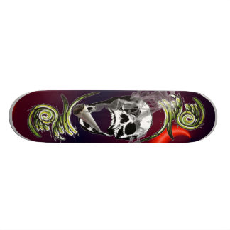 smoking head skateboard
