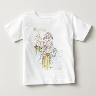 Smoking hot Fire fighting bunny.jpg Baby T-Shirt