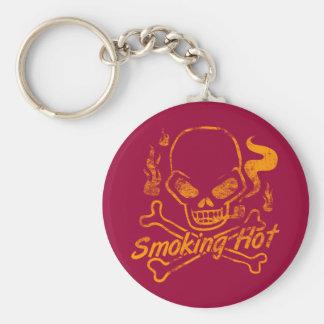 Smoking Hot Skull Key Chains