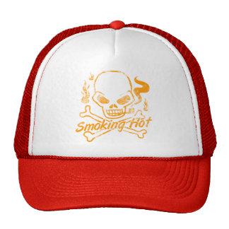 Smoking Hot Skull Trucker Hat