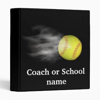 Smoking Hot Softball 3 Ring Binder