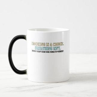 Smoking is a choice, breathing isn't coffee mug