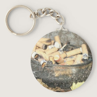 Smoking is bad for you! keychain