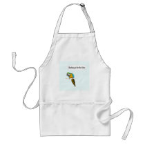 Smoking is for the birds adult apron