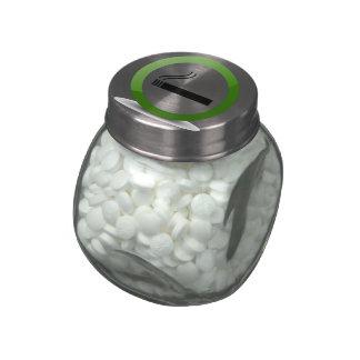 Smoking Jelly Belly Candy Jar