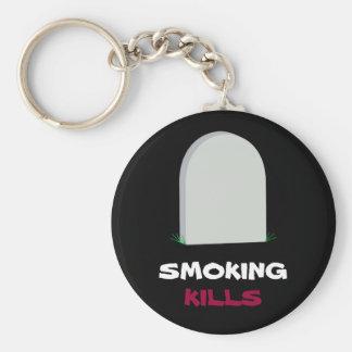 SMOKING, KILLS keychain