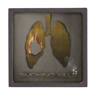 Smoking Kills Lungs Gift Box