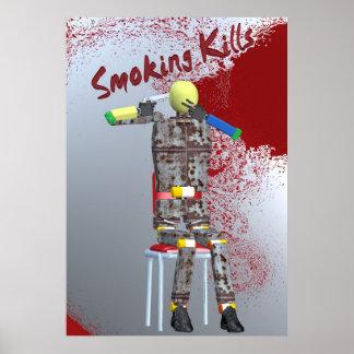 smoking kills print
