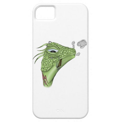 Smoking Lizard iPhone 5 Cover
